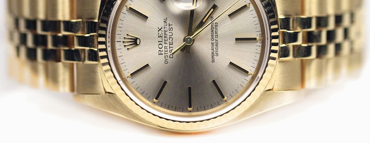 Rolex Datejust 36mm Gold clone