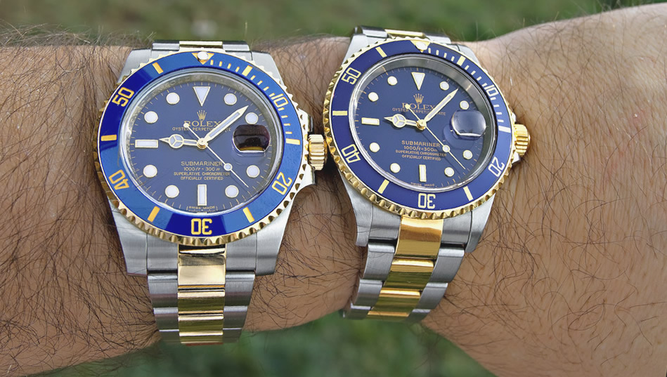 Submariner Blue Replica Compare Review